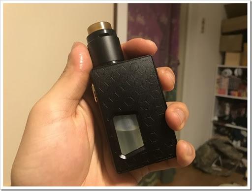 IMG 6195 thumb - 【コンパクトで可愛いやつ】Geekvape Athena Squonk Kit with BF RDA-Black(ギークベープアテナスコンクキット)レビュー!小型化されたメカニカルスコンカー!いつでも供給!漏れなしのトップエアフロー!