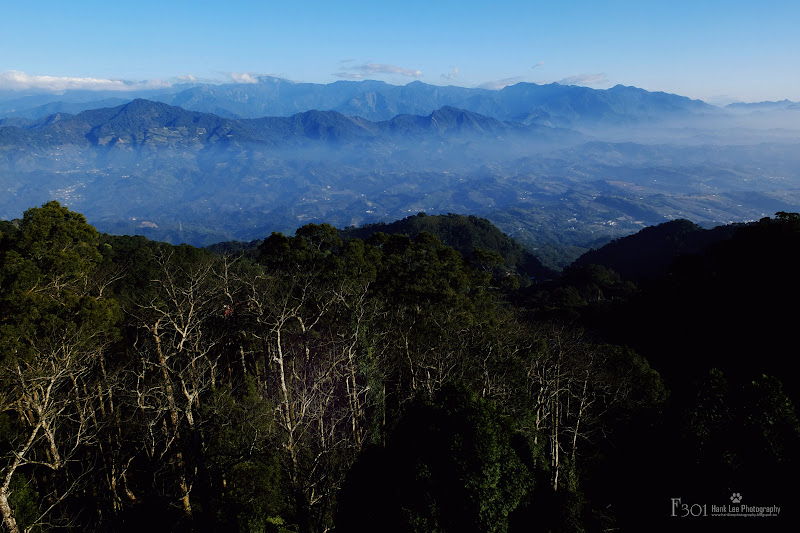 三義雲洞山莊遠眺