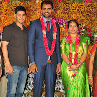 Producer Mallaiah Son Hero Shiva Wedding Reception Pics