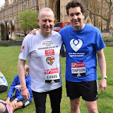 OIC - ENTSIMAGES.COM - Conservative MP Graham Evans  and Conservative MP Edward Timpson at the  EIGHT MPS SET TO RUN THE 2016 VIRGIN MONEY LONDON MARATHON 15th April  2016 Photo Mobis Photos/OIC 0203 174 1069