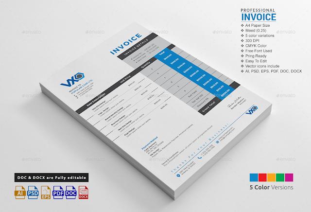 [Print Templates] Invoice Excel