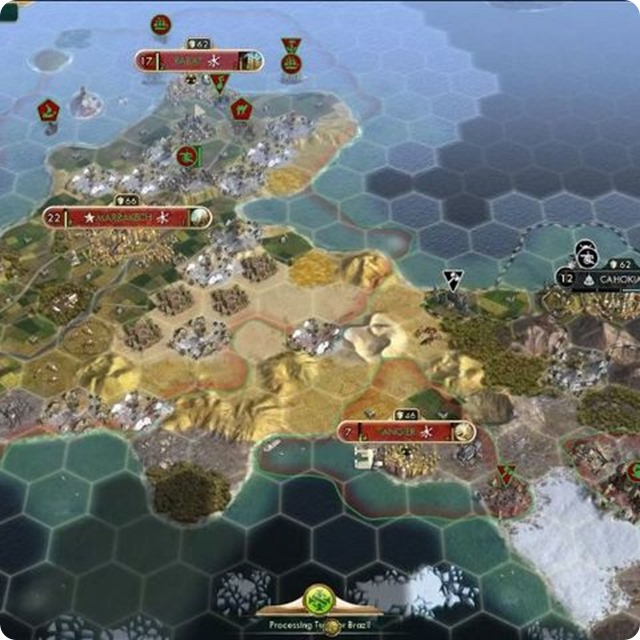 The Moroccan people represent a civilization introduced in Civilization V: Brave New World.
