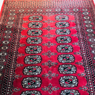 Bokhara Wool Small Area Rug