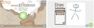 DrawaStickman EPIC, un entretenido juego con hombres-palitos