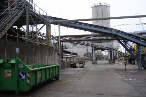 Na reiniging gaan de bieten in de fabriek waar ze worden versneden (bijna geraspt zoals worteltjes).