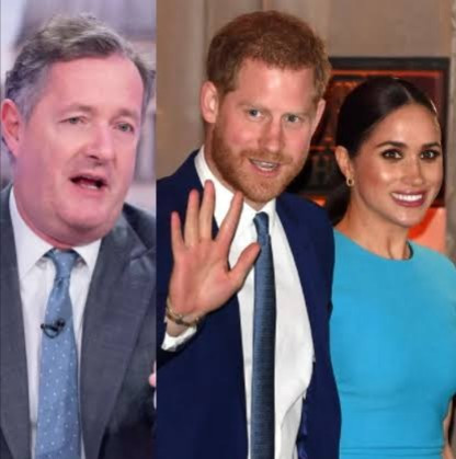 Piers Morgan slams Prince Harry and Meghan Markle for their Netflix deal, nigerian bloggers, Abuja youtubers,
