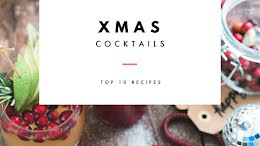 Christmas Cocktails - Winter Holiday item