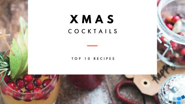 Christmas Cocktails - Christmas Template