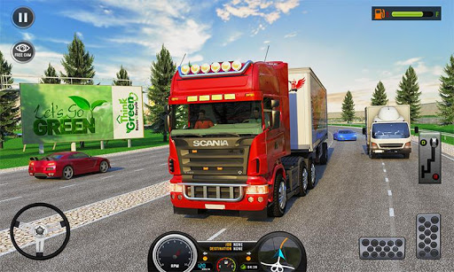 Télécharger Gratuit Euro Truck Driving Simulator Transport Truck Games APK MOD (Astuce) screenshots 1