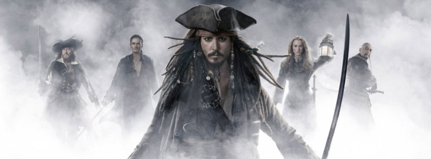 Pirates of the caribbean movie facebook cover