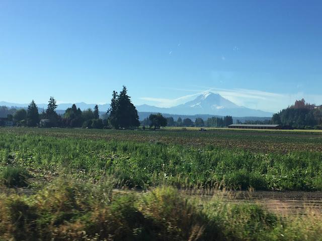 Mt Rainier from sumner WA...