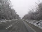 Οδηγώντας στη χιονισμένη Ρουμανία