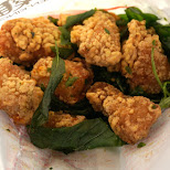 delicious Taiwanese fried chicken nuggets UNMATCHED! in Taipei, T'ai-pei county, Taiwan