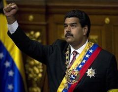 Nicolas Maduro, President of the Bolivarian Republic.