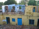 Rebuilding classrooms for the secondary school, Amarpurkashi