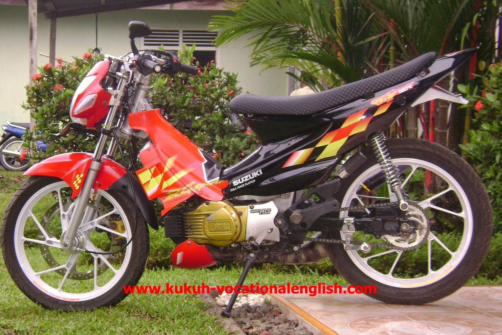 Modifikasi Motor Suzuki Kristal Wacana Modif Motor