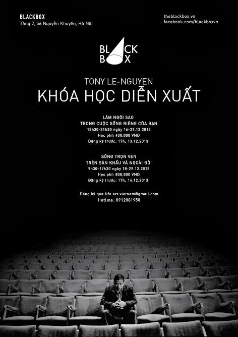 Các khoá học diễn xuất với Tony Lê-Nguyễn - Acting courses with Tony Le-Nguyen
