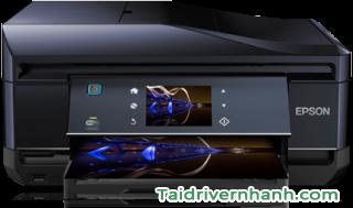 tải và cấu hình phần mềm phần mềm cấu hình máy in Epson XP-850