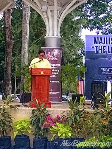 Perasmian The Long Short Walk oleh wakil Setiausaha Kerajaan Negeri Selangor.