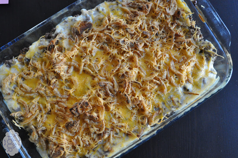 tater tot casserole recipe completed