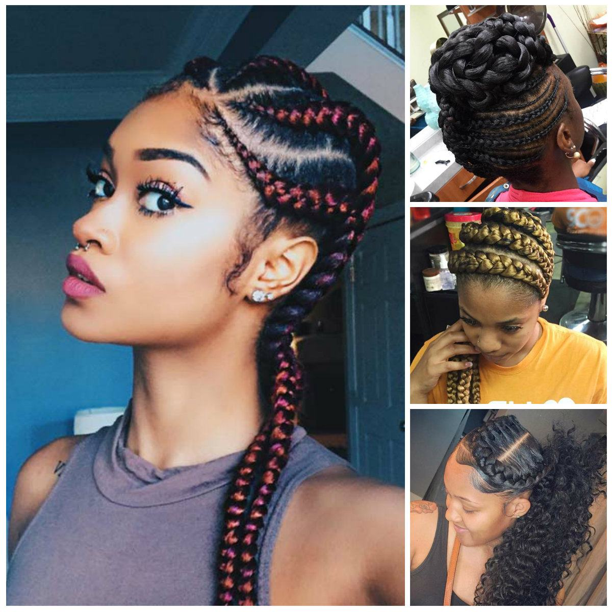 Women Braided Hairstyles 2018