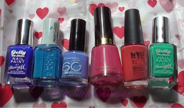 Recent Nail Polish Favourites