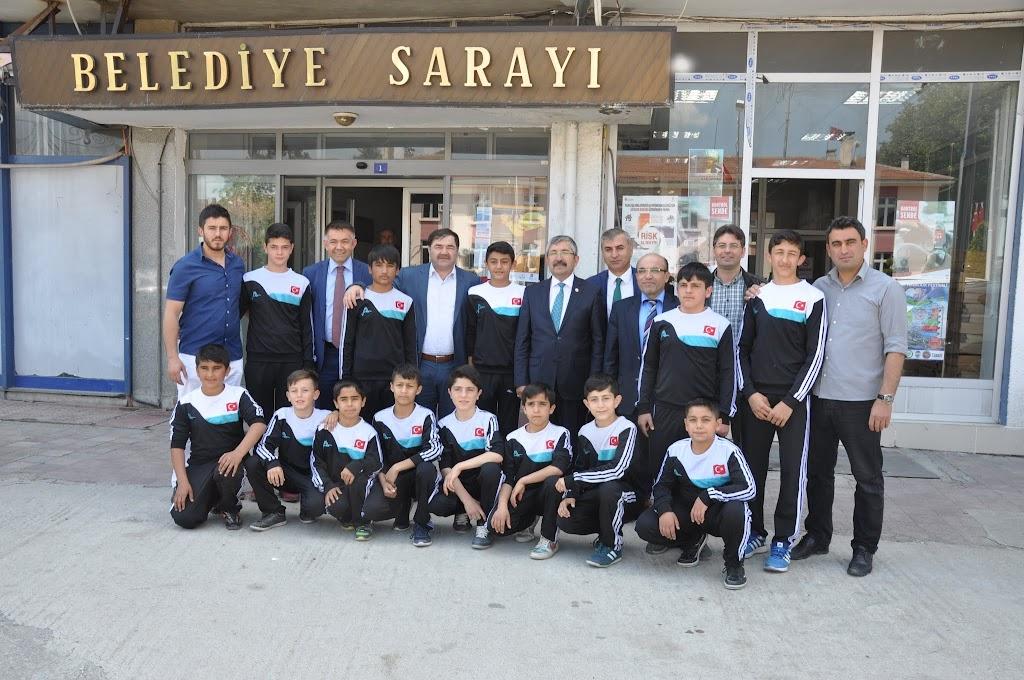 GÜREŞ FEDERASYONU BAŞKANI ZİLE'DE