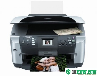 How to Reset Epson RX600 flashing lights error