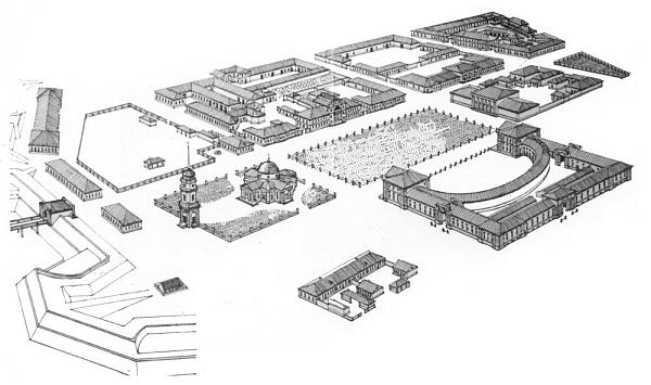 план укрупненый херсон 18 век