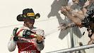 Lewis Hamilton on podium