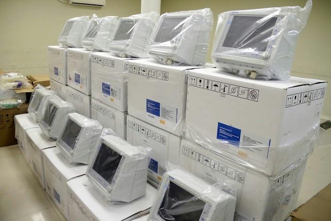 SAÚDE: Governo Federal investe R$ 1 bilhão e compra 15 mil respiradores