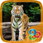 Wild Tiger GO Launcher Theme