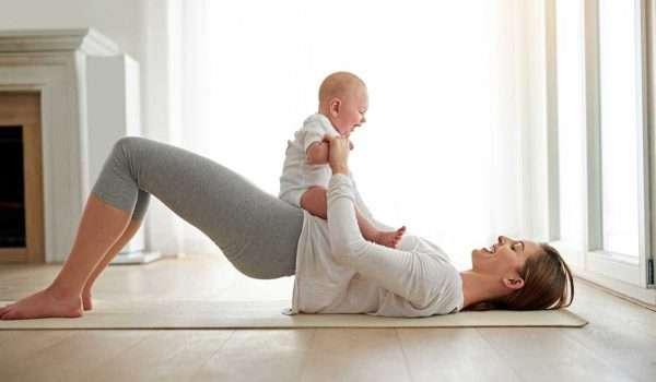 تمارين بعد الولادة