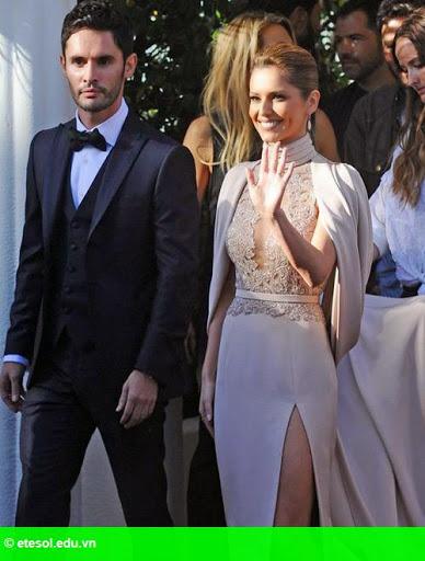 Hình 5:   Cheryl nổi bật ở LHP Cannes