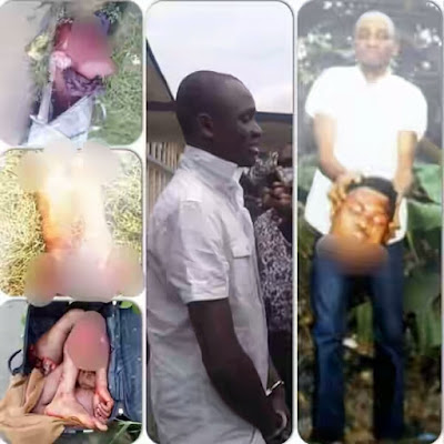 (Graphic photo) Man butchers friend and cut him into pieces over N750,000 debt