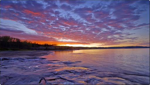 Dawn on Lake Superior, Rossport, Ontario, Canada.jpg