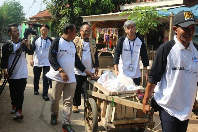Salurkan CSR, PT Mitsubishi Electric Automotive Indonesia Melalui Sahabat Dhuafa Lakukan Baksos