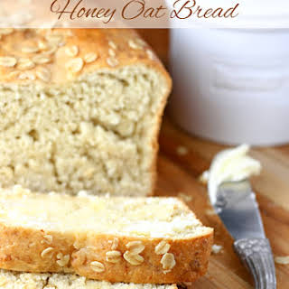 No-Knead Honey Oat Bread.