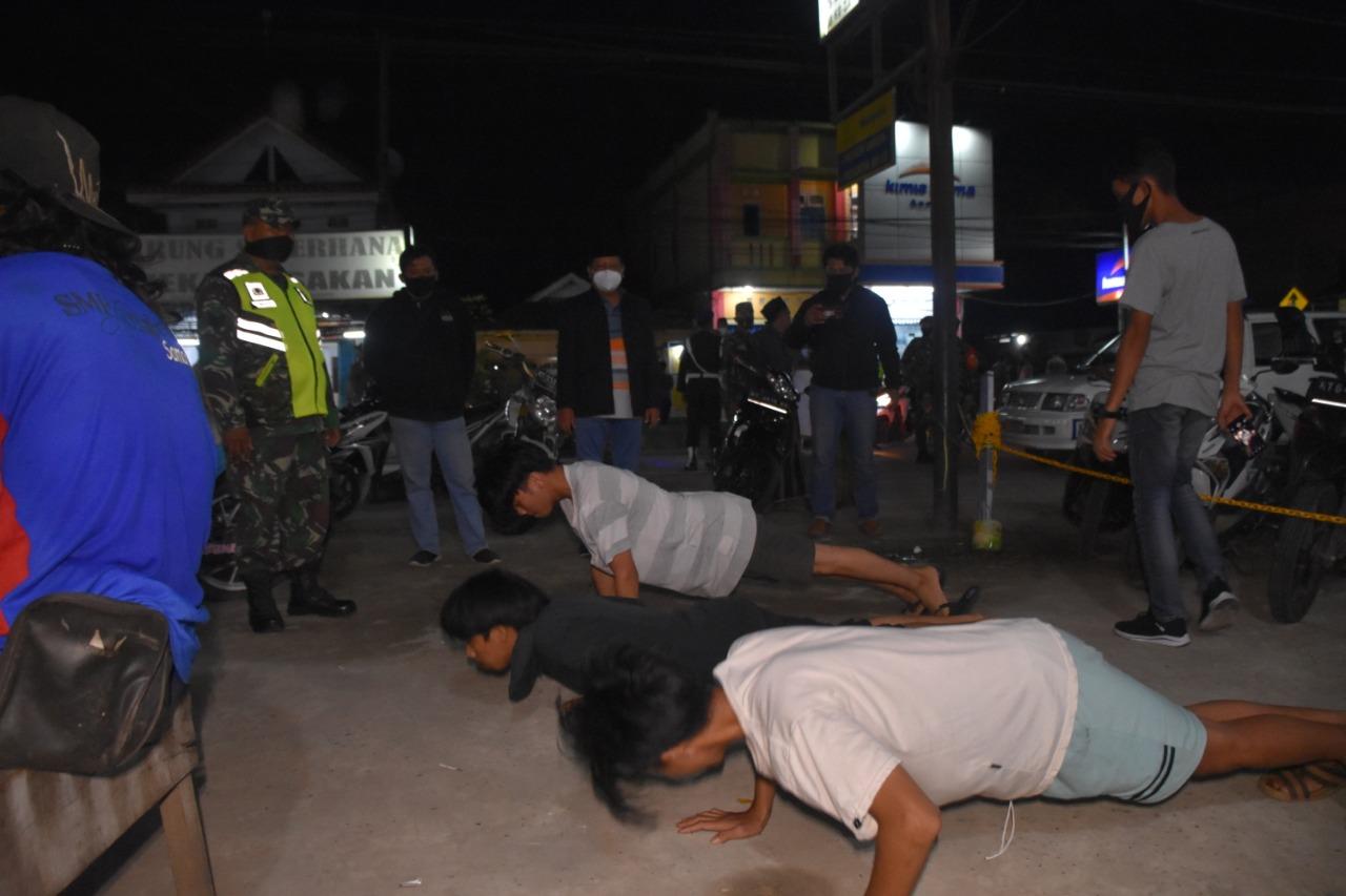 Operasi Yustisi Gabungan di Samarinda Ilir, Sasar Pelanggar yang tak Pakai Masker