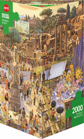 Göbel/Knorr: Fashion Shoot (2000 pieces triangular box)