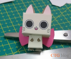 cat papercraft cute easy