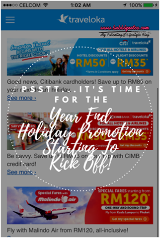 Pssttt...It's Time For The Year End Holiday Promotion Starting To Kick Off!