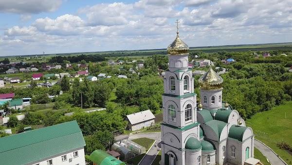 Храм Добринка поселок Липецкая область