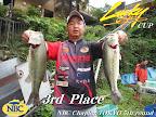 第3位の菅谷選手。津久井湖戦お立ち常連の同選手、相模湖でも釣ります釣ります! 2011-08-25T15:59:11.000Z