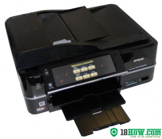 How to Reset Epson PX820WD flashing lights error