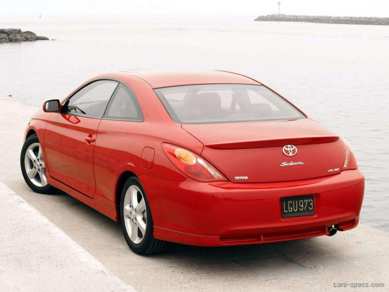 2006 toyota camry solara coupe specifications pictures prices. Black Bedroom Furniture Sets. Home Design Ideas