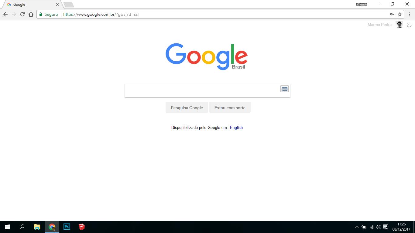 layout do mecanismo de pesquisa do google mudou repentinamente