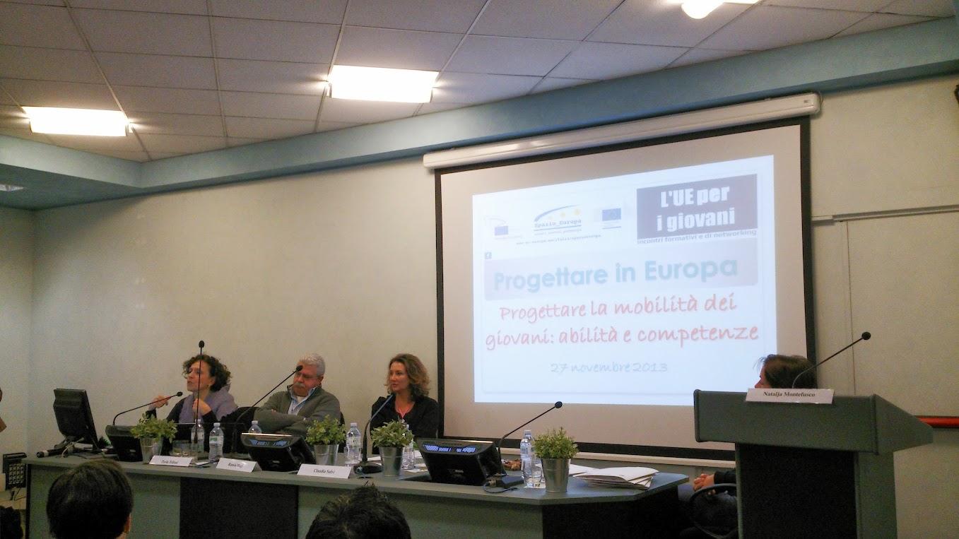 Convegno Progettare in Europa, Roma 27-11-2013 - foto di Viola De Sando