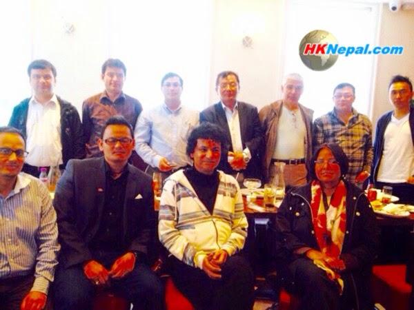 नेपाल मुक्तक प्रतिष्ठान यूके शाखाको स्थापना