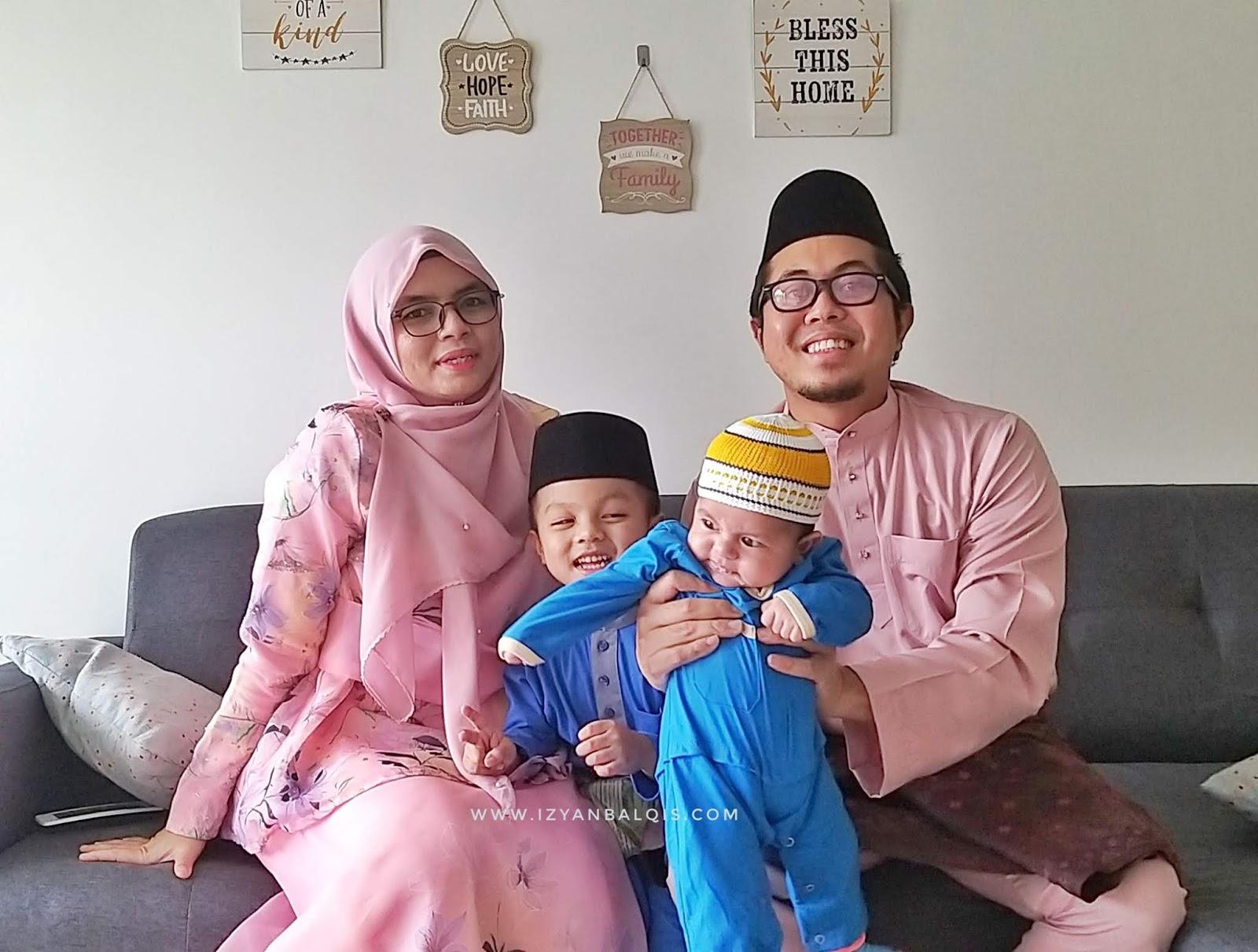 Sambutan Raya Sederhana Bersama Keluarga